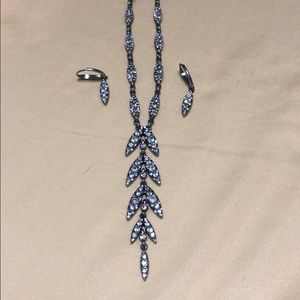 Lumiere convertible Y necklace + earrings